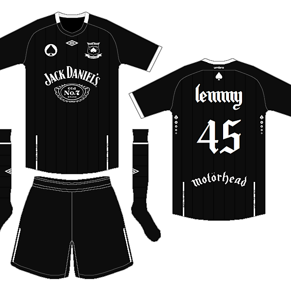 Lemmy Kilmister 1945-2015 | Black Aces FC