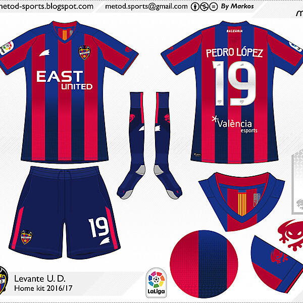 Levante U.D. 2016/17 Metod
