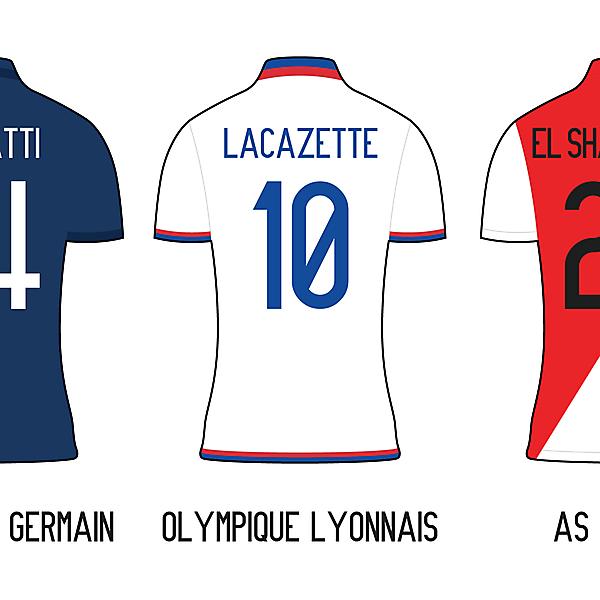 Ligue 1 Minimalist Kits