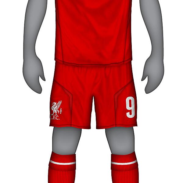 Liverpool Warrior Home Kit 12-13