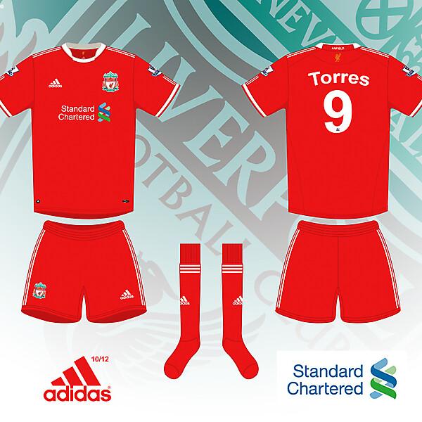 Liverpool 2010/2012 Home Shirt