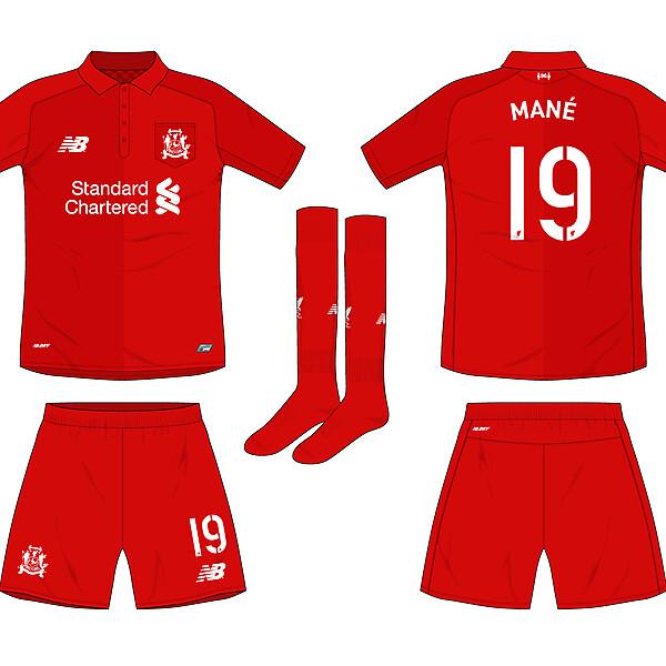 Liverpool 125 anniversary kit
