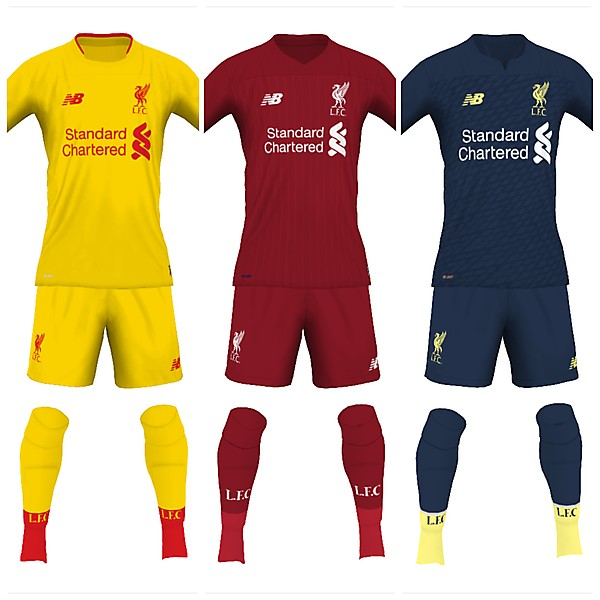 Liverpool 19/20 fantasy kits