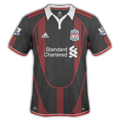Liverpool FC 2010/11 Away Shirt