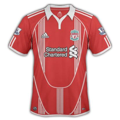 Liverpool FC 2010/11 Home Shirt