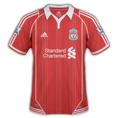 Liverpool FC 2010/11 2nd Home Shirt