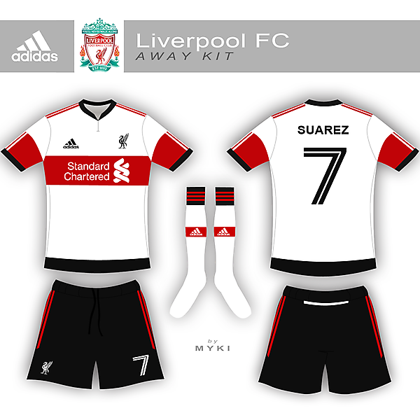 Liverpool Adidas collection