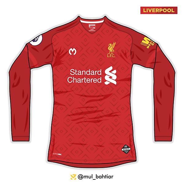 Liverpool 2020/2021 Mulbach Home Jersey Concept