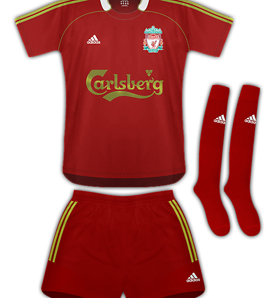 Liverpool Euro Kit 09/10
