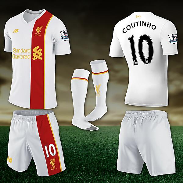 Liverpool 5-16 Away Concept