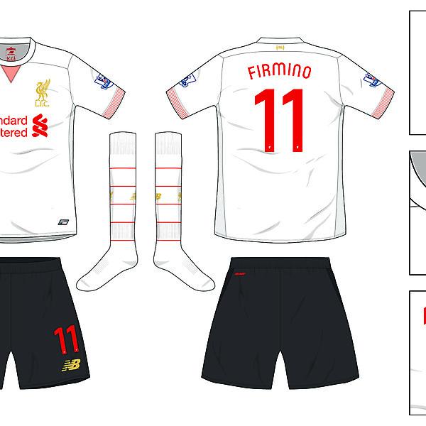 Liverpool Away kit 2016/17
