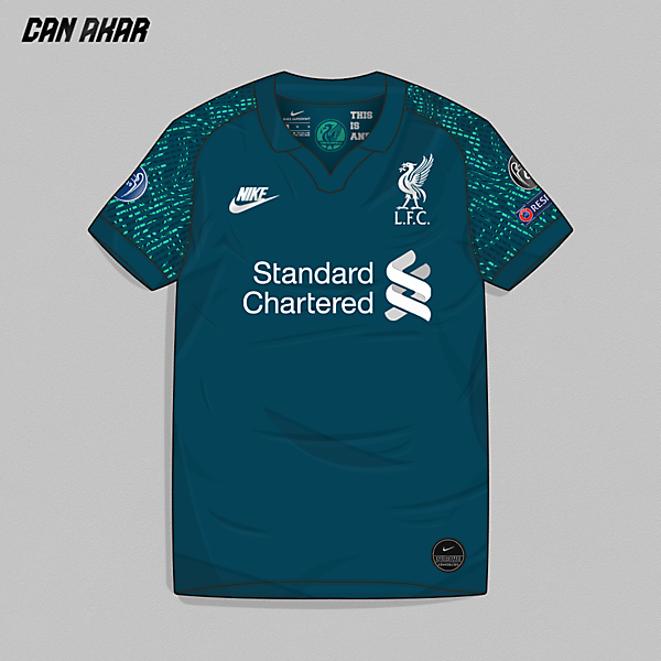Liverpool Away Kit x Nike
