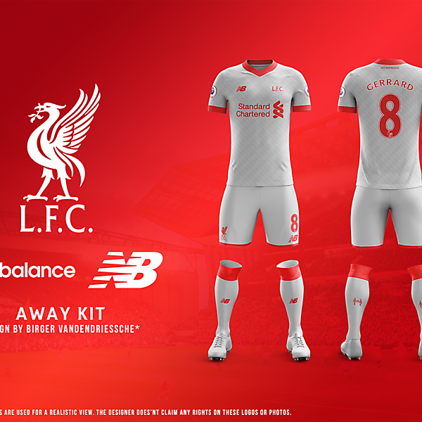 Liverpool FC - Fantasy Football Kit (AWAY)