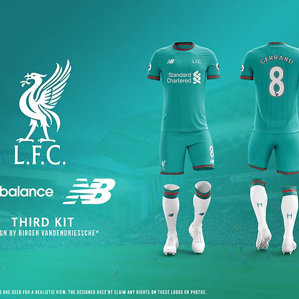 Liverpool FC - Fantasy Football Kit (THIRD)