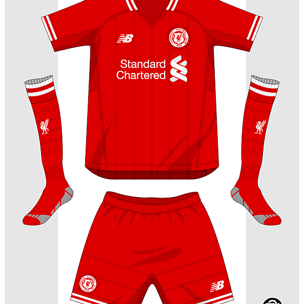 Liverpool F.C. 125th Anniversary home