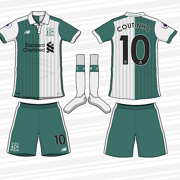 Liverpool FC 2017/18 Away Kit