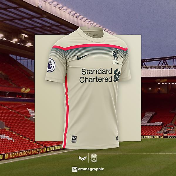 Liverpool FC   Nike   Away