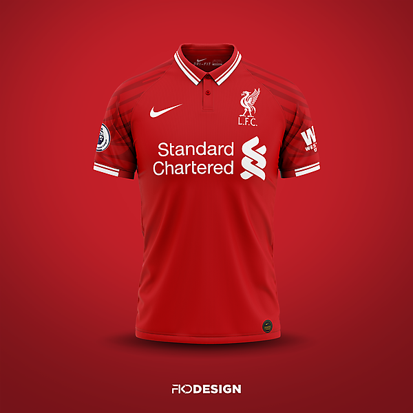 Liverpool FC   Nike   Home