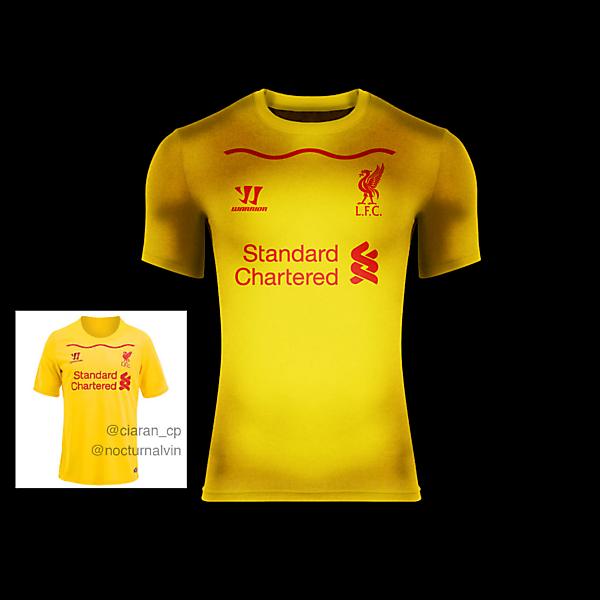 Liverpool F.C. Away 14/15 BASED ON LEAKED KIT