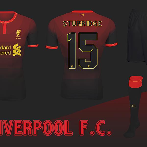 Liverpool F.C. Away 2/ Third Kit