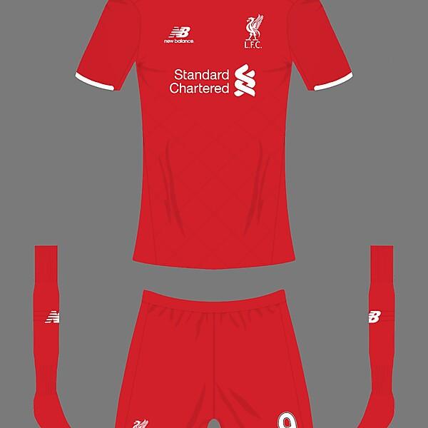 Liverpool FC new balance home kit