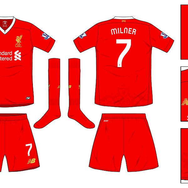 Liverpool Home kit 2016-17