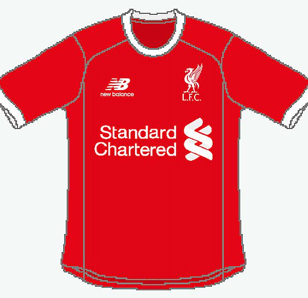 Liverpool New Balance Home