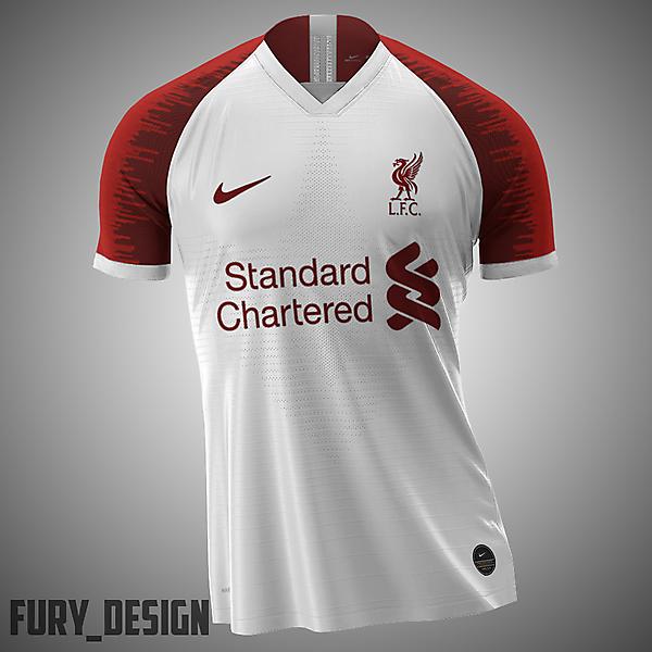 Liverpool Nike Kit Away
