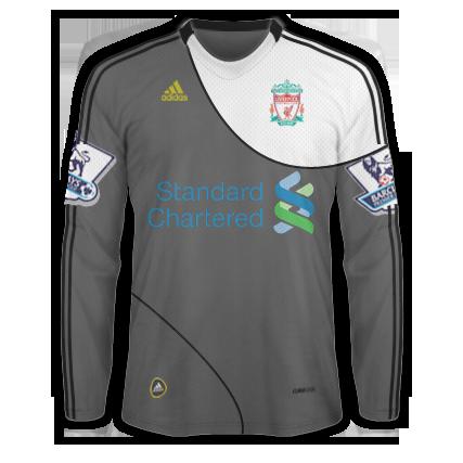 Liverpool 2010/11 kits