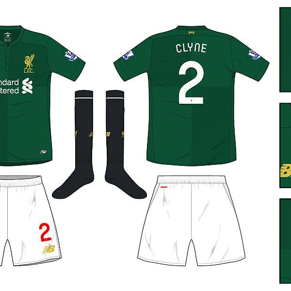Liverpool Third kit 2016/17