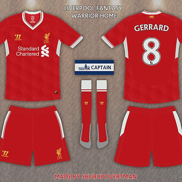 Liverpool Warrior Home