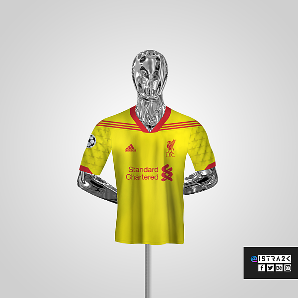 Liverpool X Adidas - Away / UCL Edition