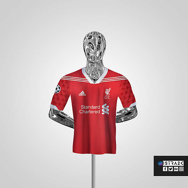 Liverpool X Adidas - Home / UCL Edition