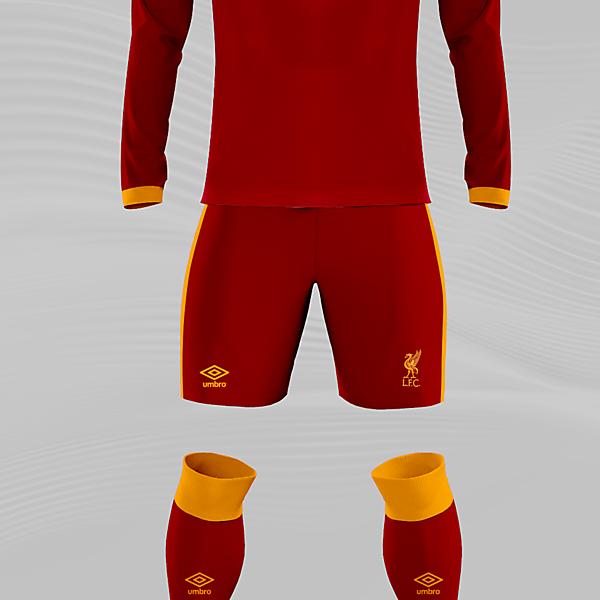 Liverpool x Umbro Concept Home Kit