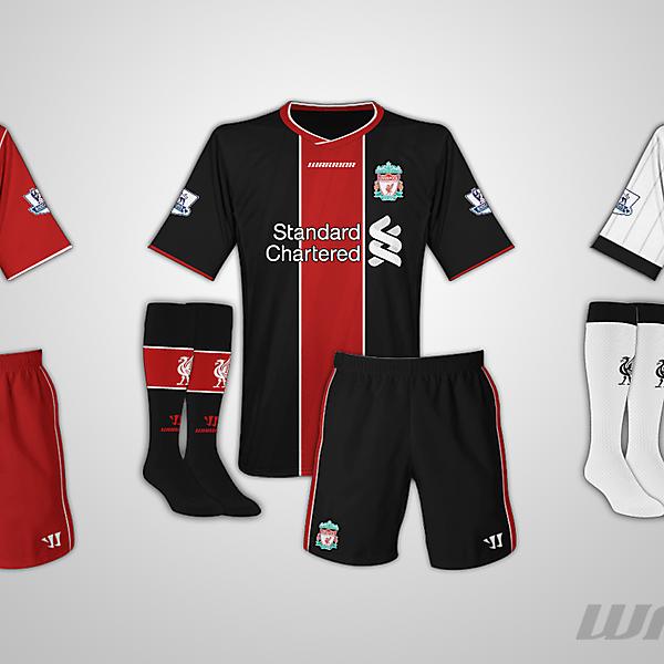 Liverpool Warrior Kits