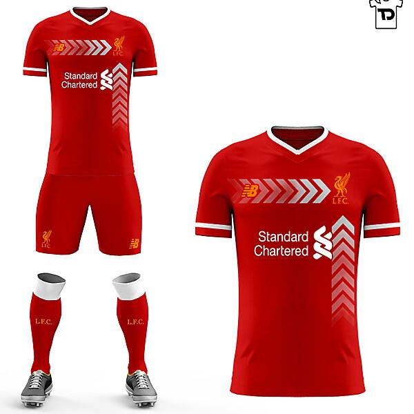 Livrpool FC home kit