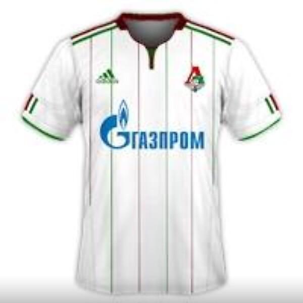 Lokomotiv Moscow 2014-15 Adidas Home Kit Design