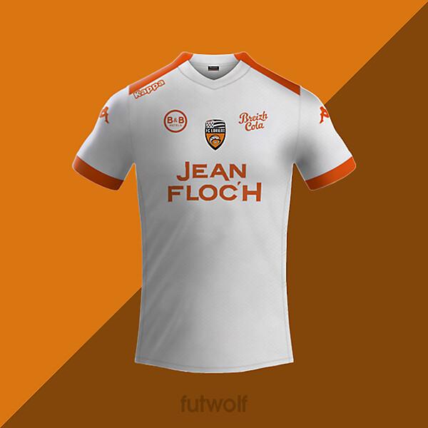 Lorient Away Shirt Concept
