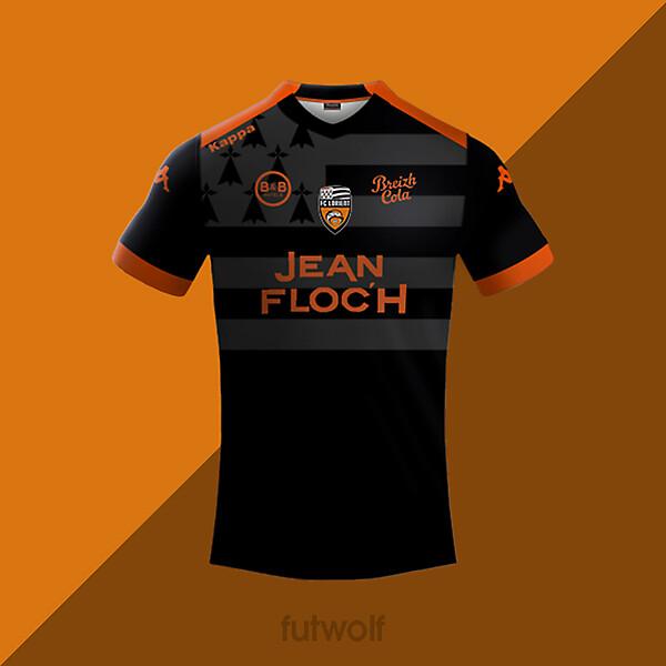 Lorient Third Shirt Concept