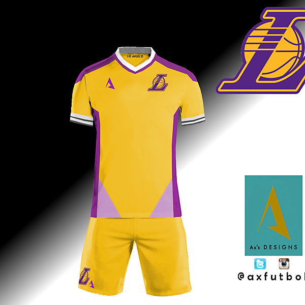 Los Angeles Lakers football kit concept