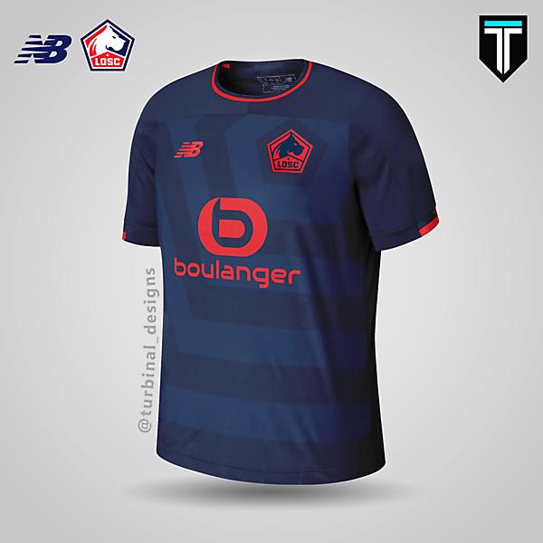 LOSC Lille x New Balance - Third Kit Concept