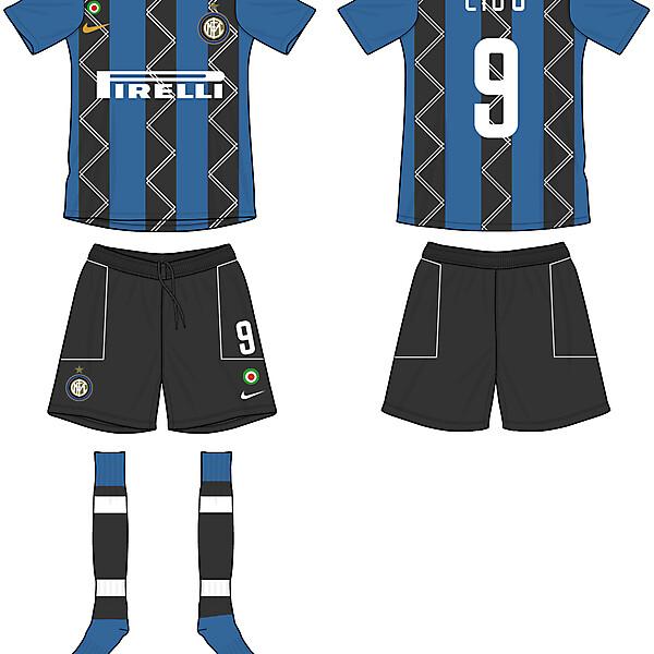 Internazionale home kit concept