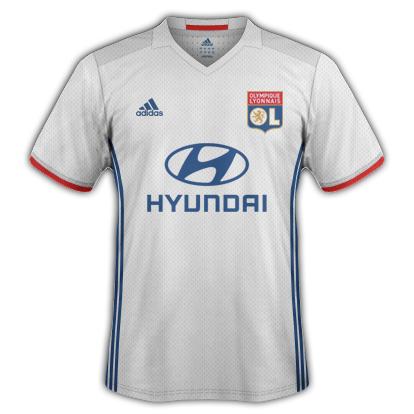 Lyon Home Kit 2016/17