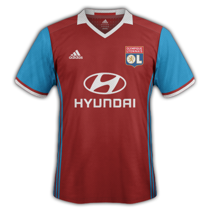 Lyon Third Kit 2016/17