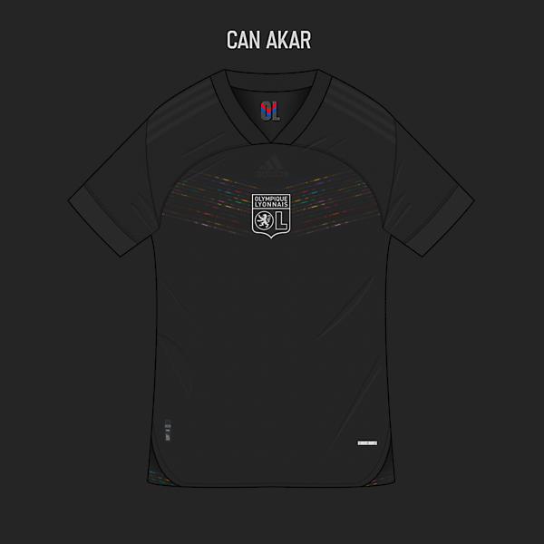 Lyon Third Kit x Adidas