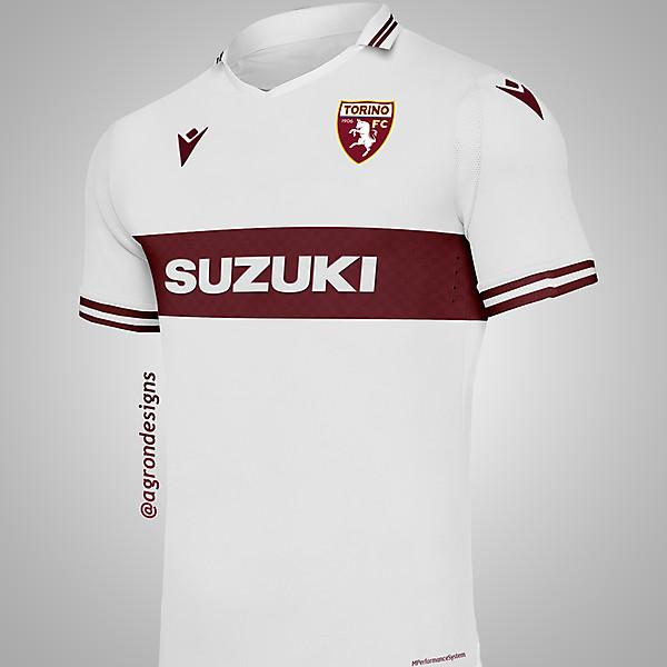 MACRON TORINO FC AWAY KIT CONCEPT