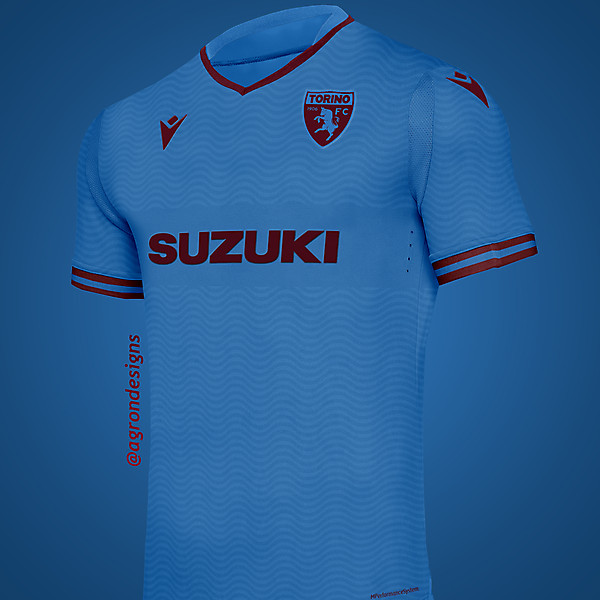 MACRON TORINO FC THIRD KIT CONCEPT