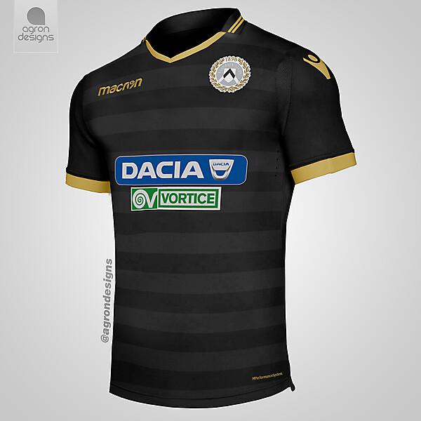 Macron Udinese Third Kit ConceptThird