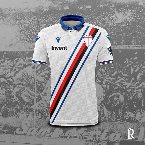 Macron x Sampdoria away