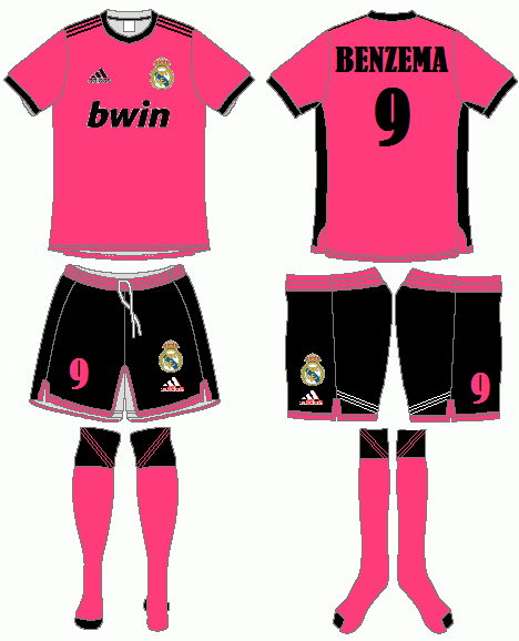 Real Madrid Adidas Third Kit